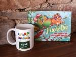 Kombination zum Schulanfang Buch + Tasse mit Wunschnamen