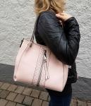 Handtasche rose
