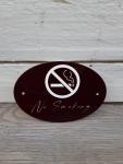 Türschild No Smoking
