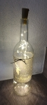 Leuchtflasche Frohe Weihnachten