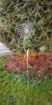 Gartenstecker *Blume* silber