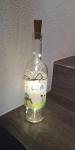 Leuchtflasche *Bauernhof* mit Wunschnamen