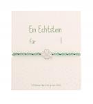 Echtsteinarmband - Grüner Achat
