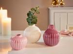3er Set Vasen, pastell