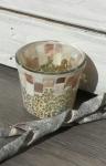 Gold & Pearl Mosaic