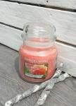 Mittlere Duftkerze * Sun Drenched Apricot Rose *