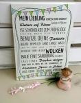 Holzschild *Mein Liebling*