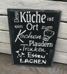 Diese Küche *schwarz*