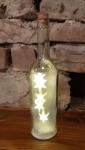 Leuchtflasche Sterne